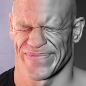 John Cena Face Scan